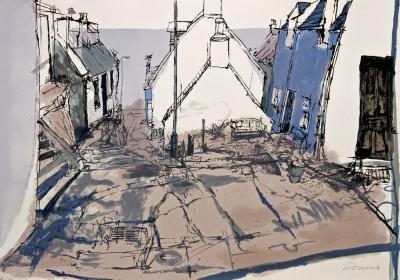 KD2-The Quarry Path Screenprint 100x70cm