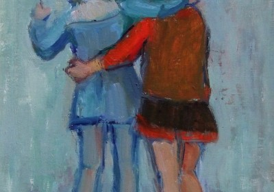 Moira Beaty -TWO SKATERS