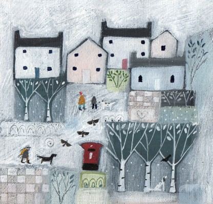 LRawlings - Snowy Hamlet