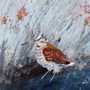 Ingebjorg Smith Misty Rowan Woodcock £200 image size 18x25cm approx