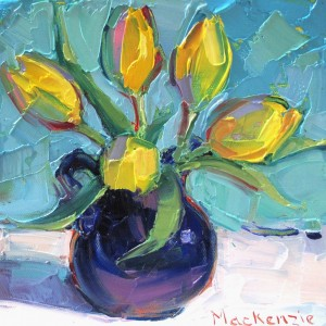 J Mackenzie A Little jug of sunshine.