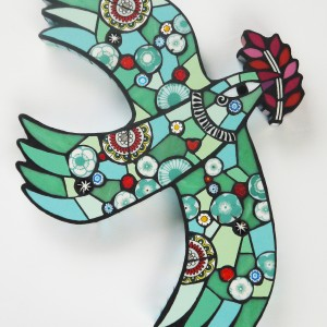 This Is The Place H35cm W25cm Mixed Media Mosaic RRP £245