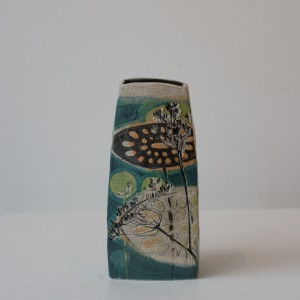 Medium Square Cowparsley Vase