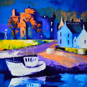 1.Autumn Light, Kirkcudbright Harbour