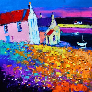 2.Evening Light, Kirkcudbright Harbour