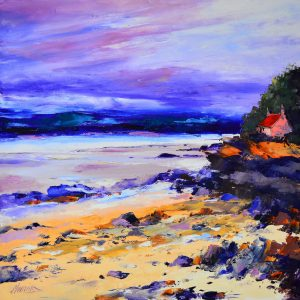 3.Evening Light, Nun Mill Bay, nr. Kirkcudbright