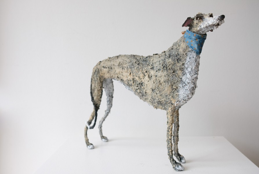 Gemma Rees Dog Sculpture Max