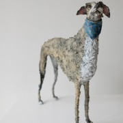 Gemma Rees Dog Sculpture Max II