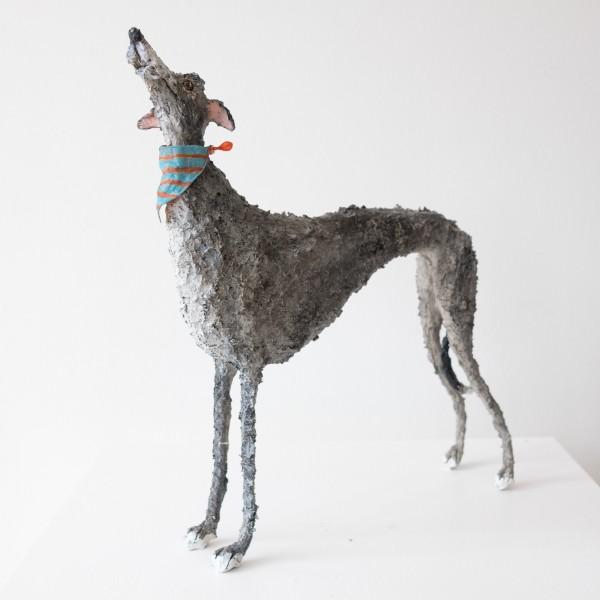Gemma Rees Dog Sculpture Douglas I
