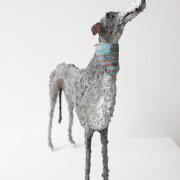 Gemma Rees Dog Sculpture Douglas II