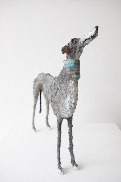 Gemma Rees Dog Sculpture