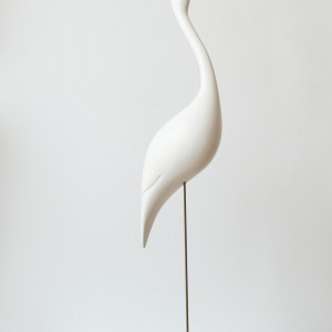 Egret, Michael Lythgoe, Sculpture
