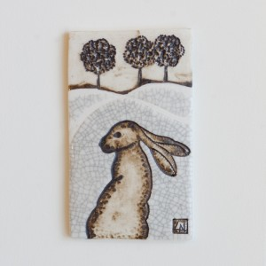 Hare Wall Piece