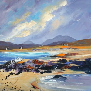 Dronma - Arisaig Evening 50x50cm