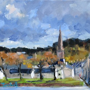 Autumn Sunshine, Kirkcudbright