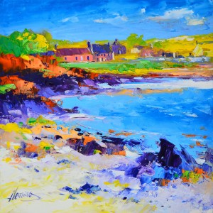 6.Late Summer on the shore, Isle of Whithorn