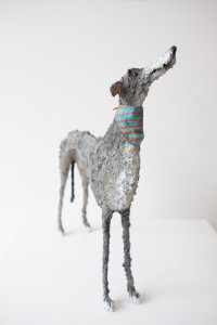 Gemma Rees Dog Sculpture