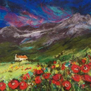 MM17_159 ANDALUCIAN POPPIES 58X5877X77CM £1850 WHITEHOUSE GALLERY