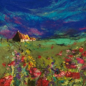 MM17_160 POPPY RETREAT 42X4262X62CM £950 WHITEHOUSE GALLERY
