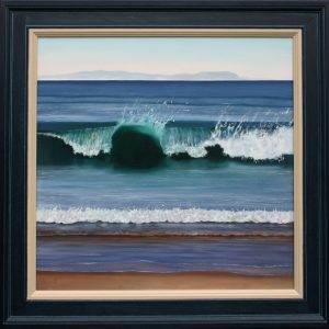 West Coast Wave 71 x 71cm