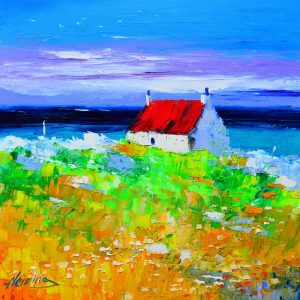 4.Spring, Cottage by the Sea, Cleat, Barra