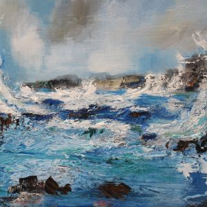RBARR - ITS BLOWING A GALE 60X55CM £1100
