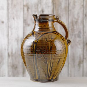 THUMB Doug Fitch Wet Sgraffito Jug - Image Shannon Tofts