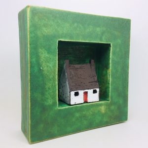 PM bothy in green frame