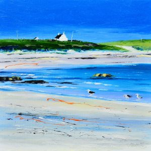 2.Spring, on the Shore, Hynish Bay, Tiree