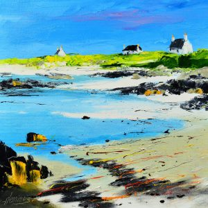 3.Cottages on the Shore, Balemartine, Tiree