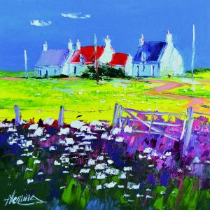 6.Cottages and Wildflowers, Balevullin, Tiree