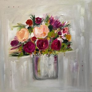 Rose Flush, 16 inch unframed, Oil, £685