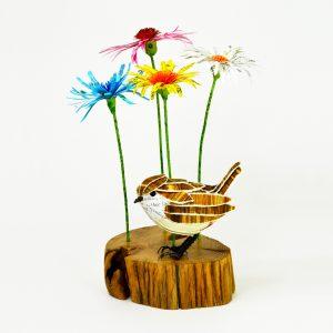 wren & wild flowers for lynnev2