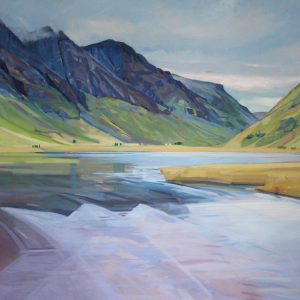GLENCOE,80X100CM, OIL ON LINEN