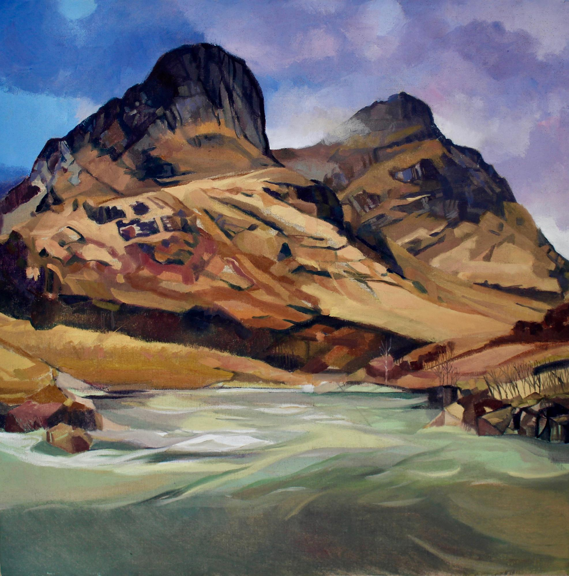 Glencoe, Two Sisters - Ann Armstrong - The Whitehouse Gallery