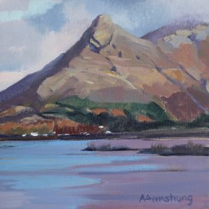 PAP OF GLENCOE, 20X20CM, OIL ON LINEN,£125jpg