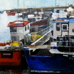 Seahouses, the bustle of the port