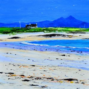 1.Summer, Cottage on the Shore, Gott Bay, Tiree