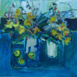 ANDY CROSS Daffies 16x16