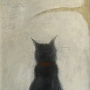 Joyce Gunn Cairns Cat and Bird