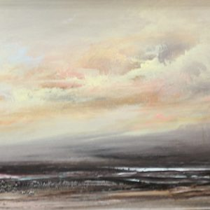 Rush Hour on Canna 12 x 40 inches