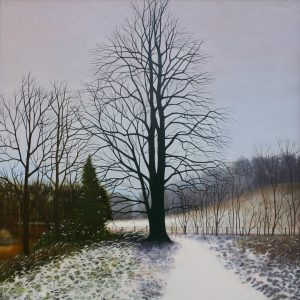 Dusting of Snow 72 x 72 cm