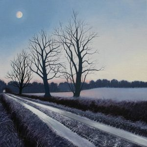 Icy Lane - Moonlight 58 x 58 cm