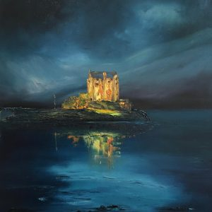 LP A STILL WINTER EVENING, EILEAN DONAN CASTLE