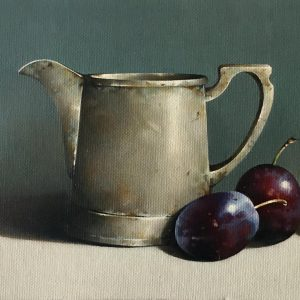 SUSAN CAIRNS PEWTER AND PLUMS