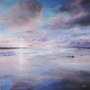 AY White 0320 60 x 60 Pastel Clouds, Gullane