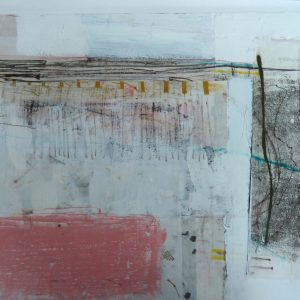 Boundary lines 41x51cm mixed media £750