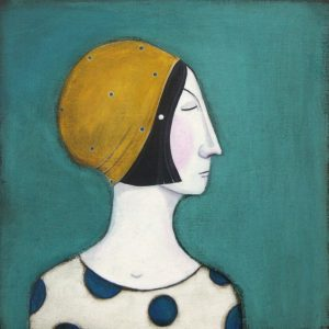 The Lady In The Mustard Hat