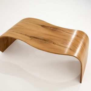 wave elm coffee table