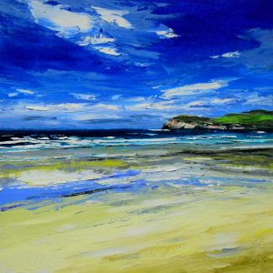 6.Sunny Day, Cliff Beach, Lewis